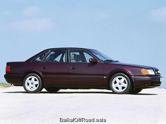 Audi 100 2.6 V6 quattro (150Hp) (Механика)