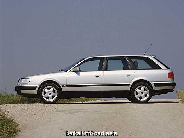 Audi 100 Avant 2.3 E quattro (133Hp) (Механика)