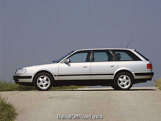 Audi 100 Avant 2.6 V6 quattro (150Hp) (Механика)