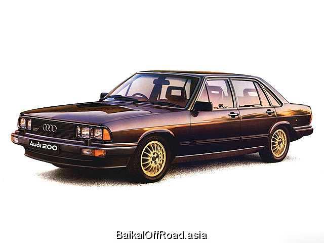 Audi 200 2.1 5 T (170Hp) (Механика)