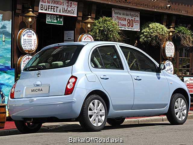 Nissan Micra 1.2 i 16V (65Hp) (Механика)