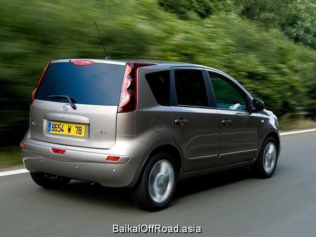 Nissan Note (facelift) 1.4 (88Hp) (Механика)