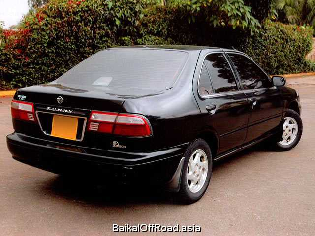 Nissan Sunny 1.3 i 16V (90Hp) (Механика)