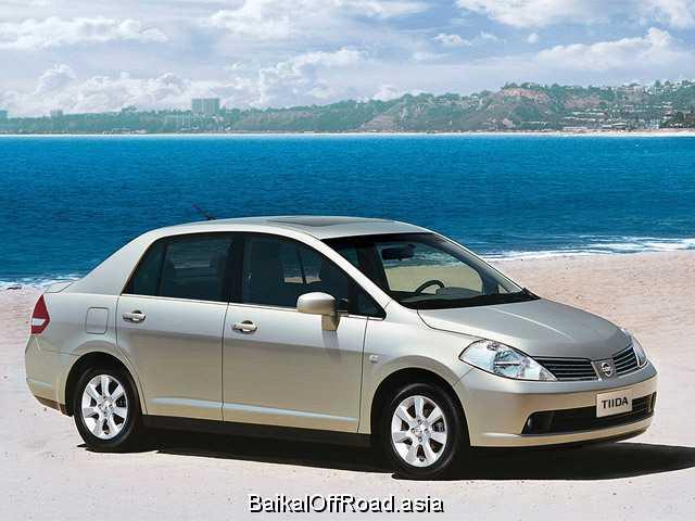Nissan Tiida Sedan 1.6 (110Hp) (Механика)