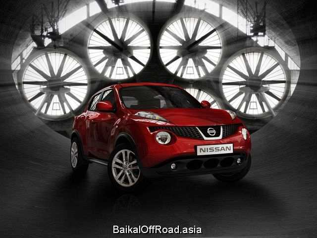 Nissan Juke 1.6 (117Hp) (Вариатор)