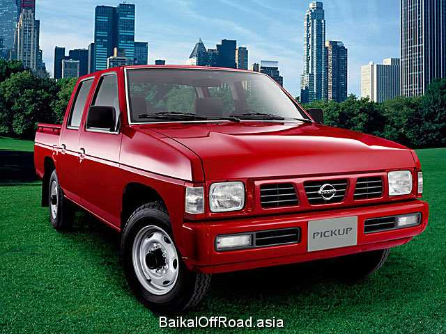 Nissan Pick UP 2.5 D 4WD (75Hp) (Механика)