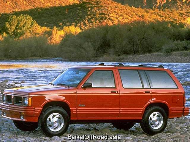 Oldsmobile Bravada 4.3 V6 (193Hp) (Механика)