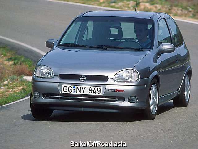 Opel Corsa 1.4 i 16V (90Hp) (Автомат)
