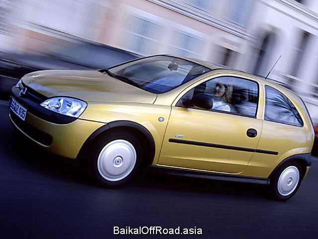 Opel Corsa 1.8 16V (125Hp) (Механика)