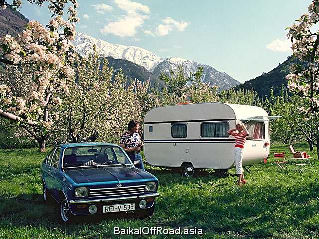 Opel Kadett Coupe 1.6 S (75Hp) (Механика)