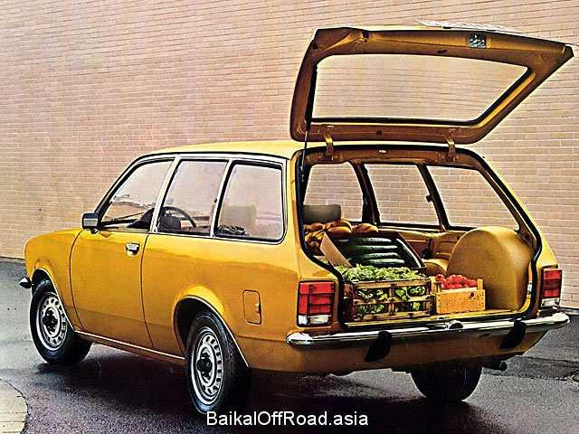 Opel Kadett Caravan 1.6 S (75Hp) (Механика)