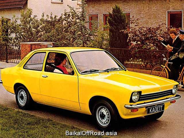 Opel Kadett 1.6 S (75Hp) (Механика)