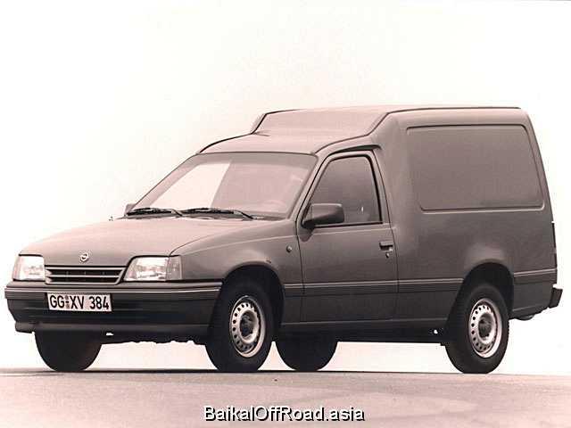 Opel Kadett Combo 1.6 i (75Hp) (Механика)