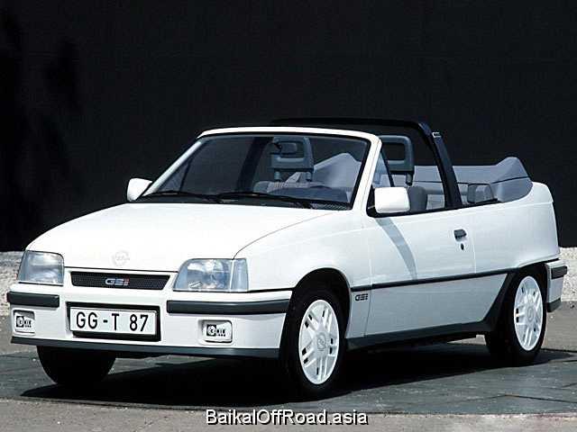 Opel Kadett Cabrio 1.6 i (75Hp) (Механика)