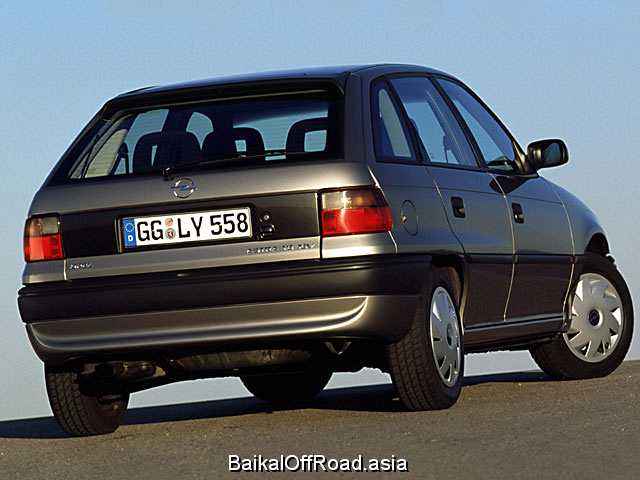 Opel Astra CC 1.6 i (75Hp) (Механика)
