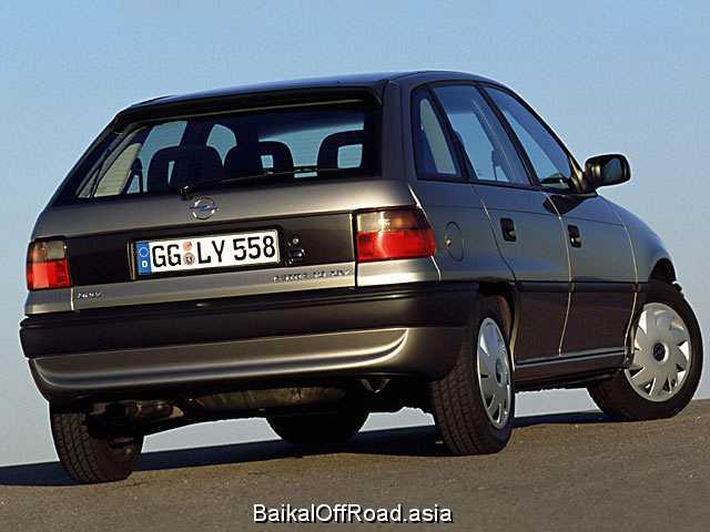 Opel Astra CC 2.0 GSI 16V (150Hp) (Механика)
