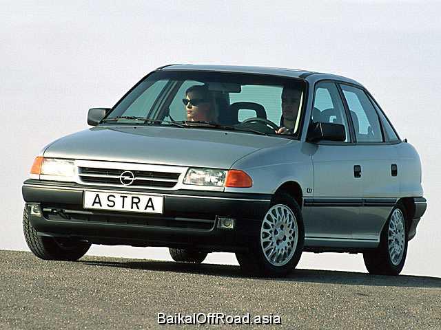 Opel Astra 1.6 Si (100Hp) (Механика)