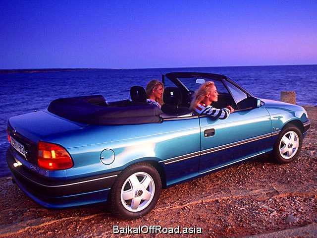 Opel Astra Cabrio 2.0 i (115Hp) (Механика)