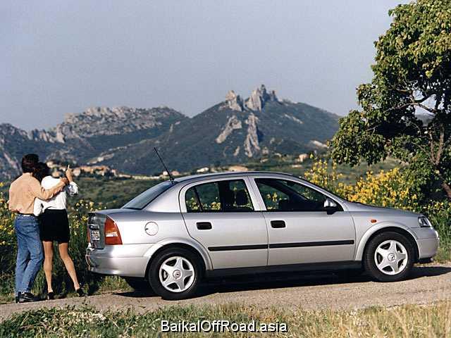Opel Astra 1.8 i 16V (125Hp) (Автомат)