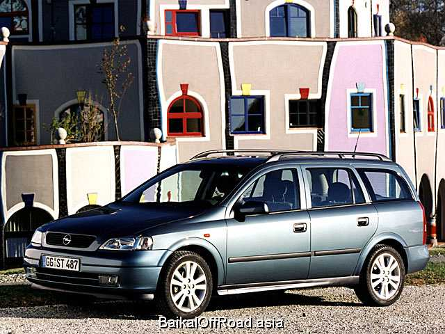 Opel Astra Caravan 2.2 16 V (147Hp) (Автомат)