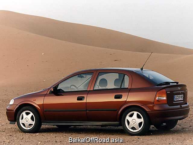 Opel Astra CC 1.7 TD (68Hp) (Механика)