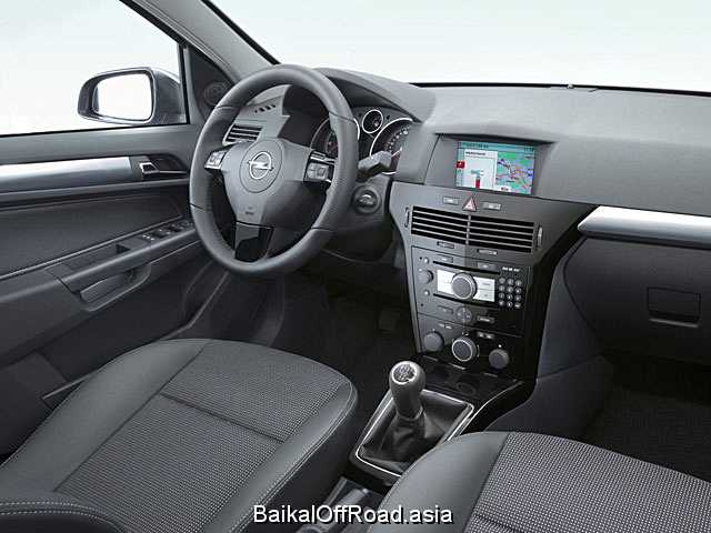 Opel Astra 1.8 16V (125Hp) (Механика)