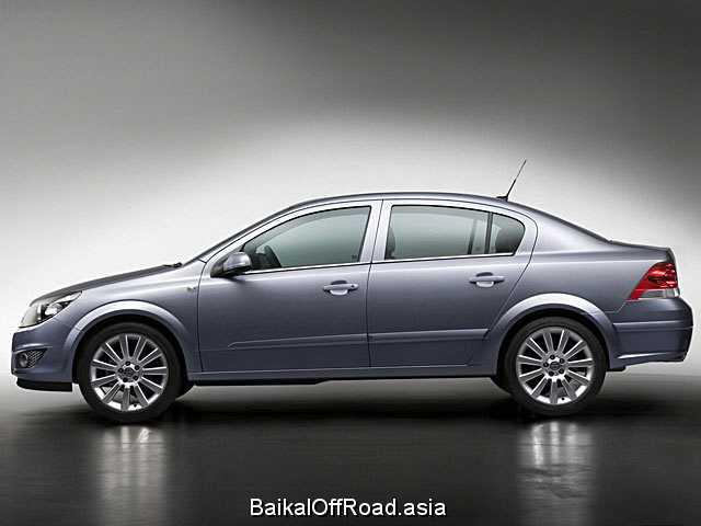 Opel Astra Sedan 1.6 i 16V (115Hp) (Механика)