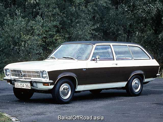 Opel Ascona Voyage 1.6 S (75Hp) (Механика)