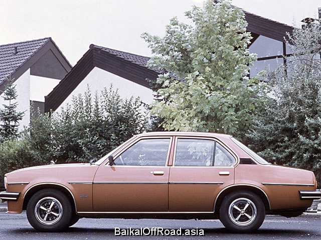 Opel Ascona CC 1.3 N (60Hp) (Механика)