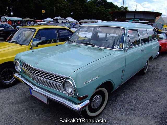 Opel Rekord Caravan 1.7 S (83Hp) (Механика)