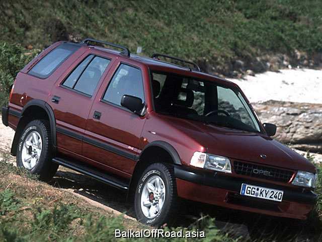 Opel Frontera 2.5 TDS (115Hp) (Механика)
