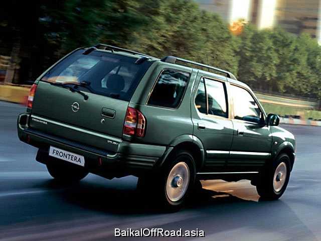 Opel Frontera 3.2 i (205Hp) (Механика)