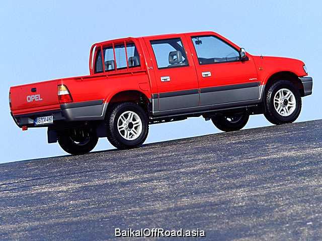 Opel Campo 2.5 D 4WD (100Hp) (Механика)