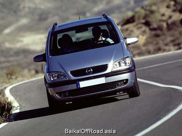 Opel Zafira 2.0 16V DTI (101Hp) (Механика)