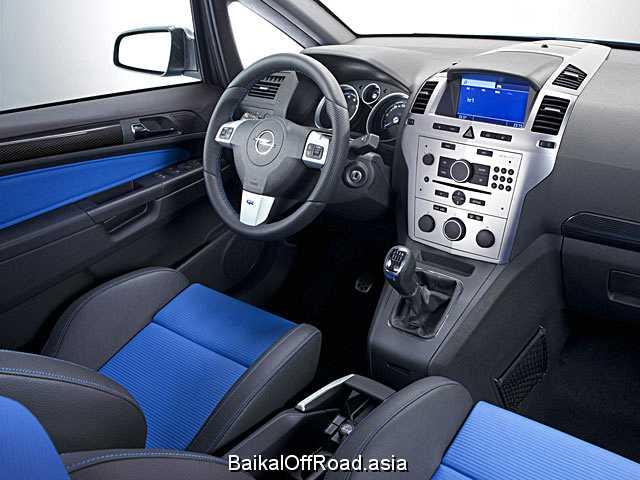 Opel Zafira 2.0 i 16V Turbo (200Hp) (Механика)