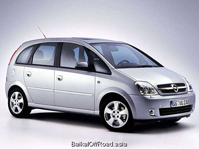 Opel Meriva 1.7 CDTI (125Hp) (Механика)