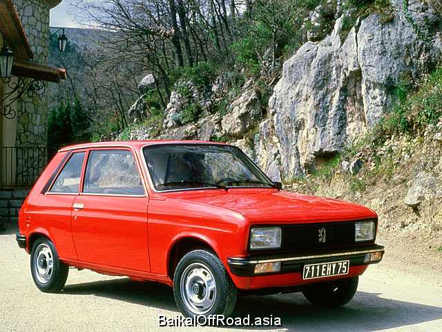 Peugeot 104 Coupe 1.1 (57Hp) (Механика)