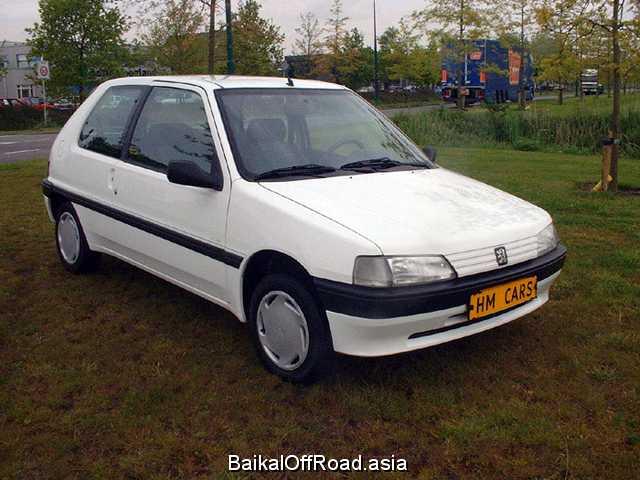 Peugeot 106 1.1 (60Hp) (Механика)