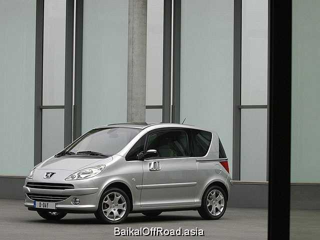 Peugeot 1007 1.4 HDi (70Hp) (Механика)