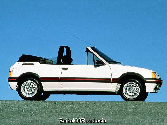 Peugeot 205 Cabrio 1.4 CJ KAT (60Hp) (Механика)