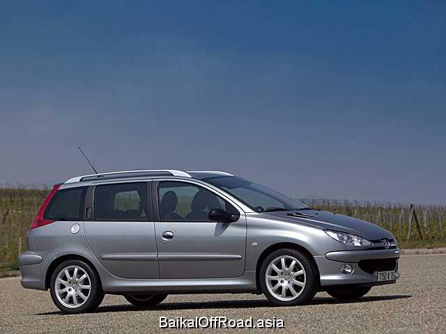 Peugeot 206 SW 2.0 HDi (90Hp) (Механика)