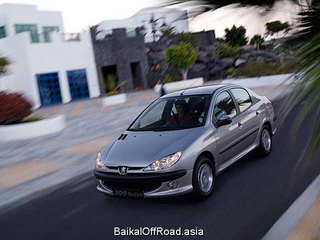 Peugeot 206 Sedan 1.6 Tiptronic (110Hp) (Автомат)