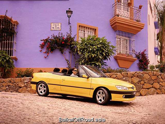 Peugeot 306 Cabrio 1.6 i 16V (109Hp) (Механика)