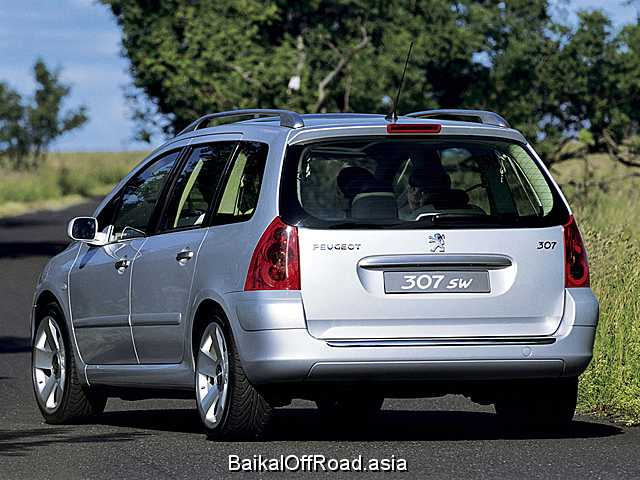 Peugeot 307 Station Wagon 2.0 HDi (90Hp) (Механика)