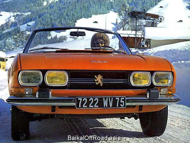 Peugeot 504 Coupe 2.0 (102Hp) (Механика)