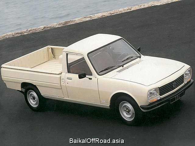 Peugeot 505 1.8 (75Hp) (Механика)