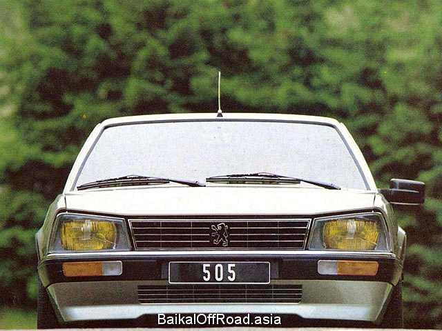 Peugeot 505 2.2 i (114Hp) (Механика)