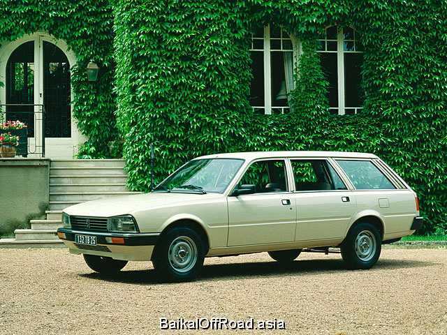 Peugeot 505 Break 2.5 Diesel (75Hp) (Механика)