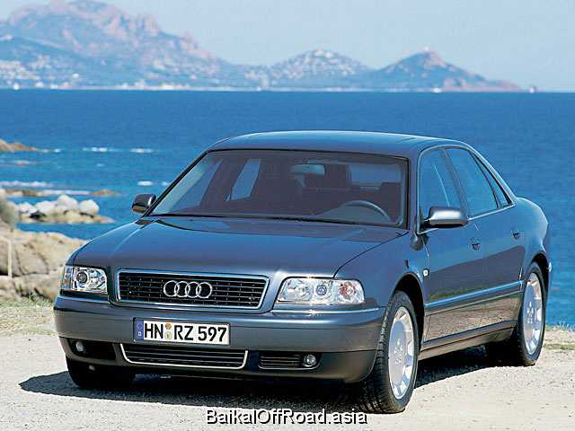 Audi A8 2.8 30V (193Hp) (Механика)