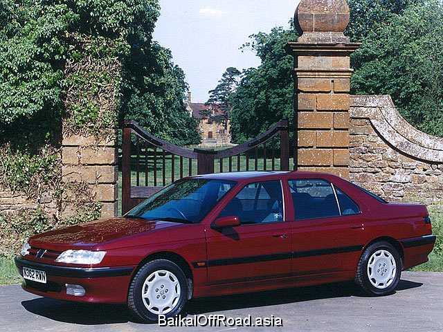 Peugeot 605 2.0 Turbo (141Hp) (Механика)